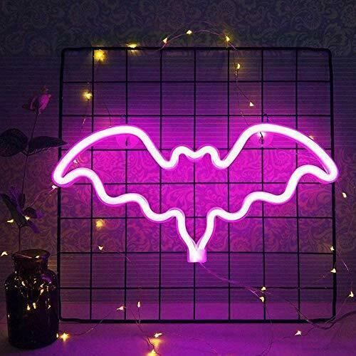 Neon Bat light