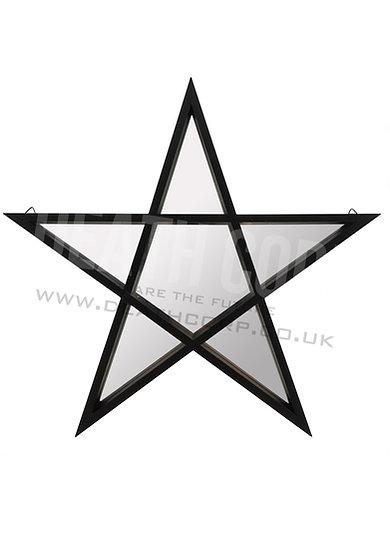 Pentagram Shaped Wall Hanging Mirror