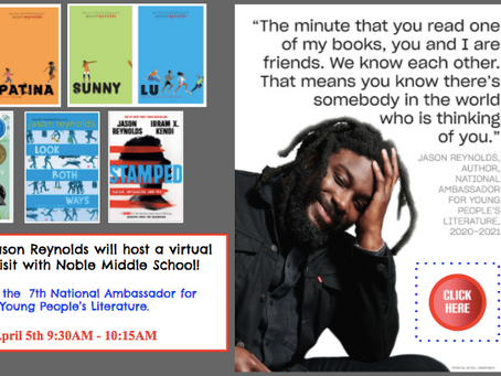 Author Jason Reynolds visits NMS