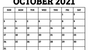 OCTOBER DATES