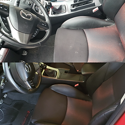 Trident Detailing Interior Car Wash Package