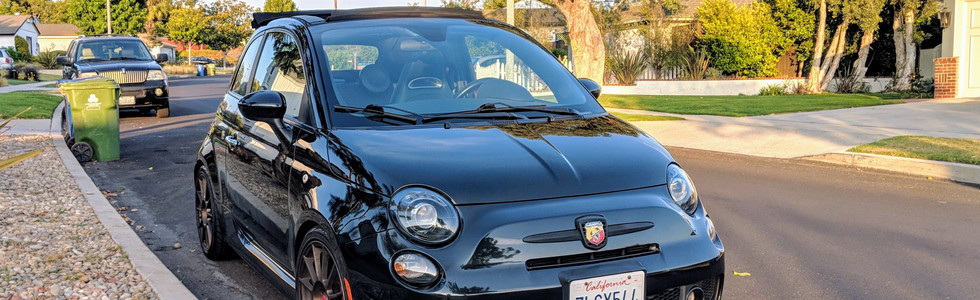 Fiat 500 Abarth With Our Premium Exterior Detail Package