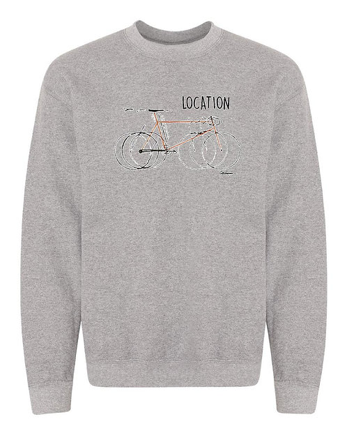 Bike Sweatshirt - Your Location