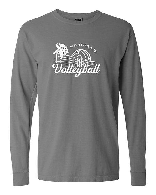 Volleyball Net Long Sleeve T-Shirt