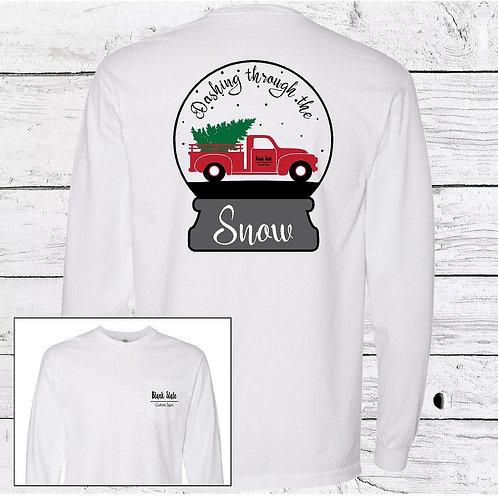 Snow Globe Christmas Long sleeve T-Shirt
