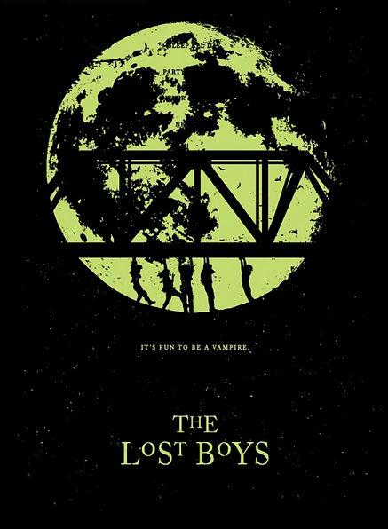 The Lost Boys Print Studiohouse Designs Kevin Thomas GID