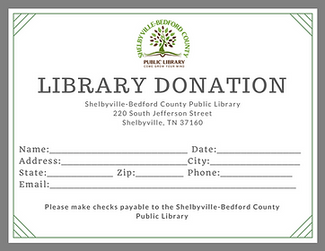 Library Donation Form