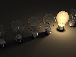 Bulbo da idéia brilhante