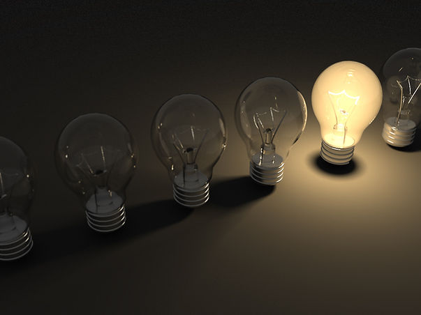 Bright lightbulb idea