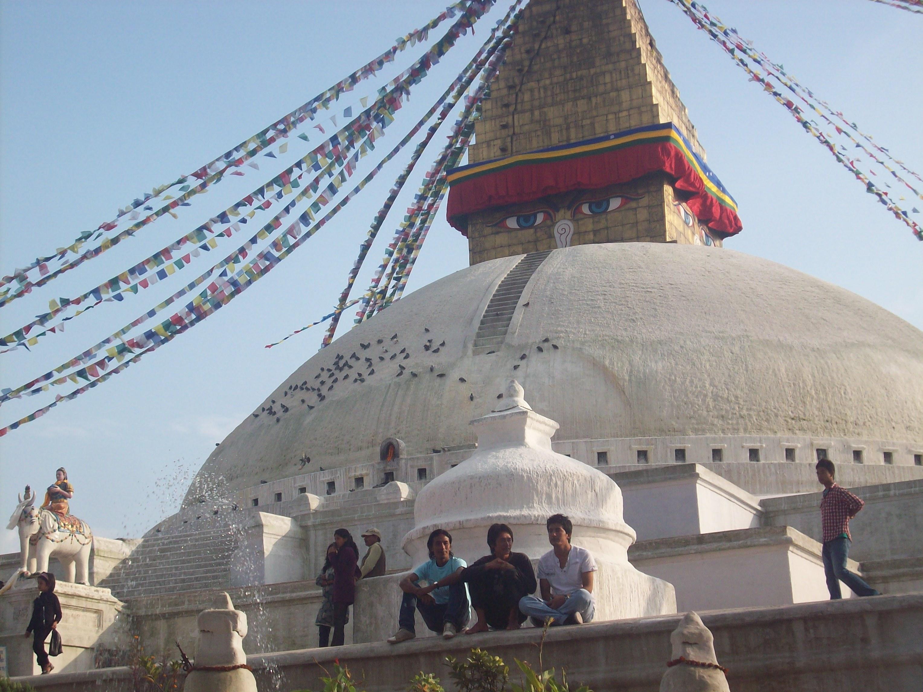 仏教寺院Boudha