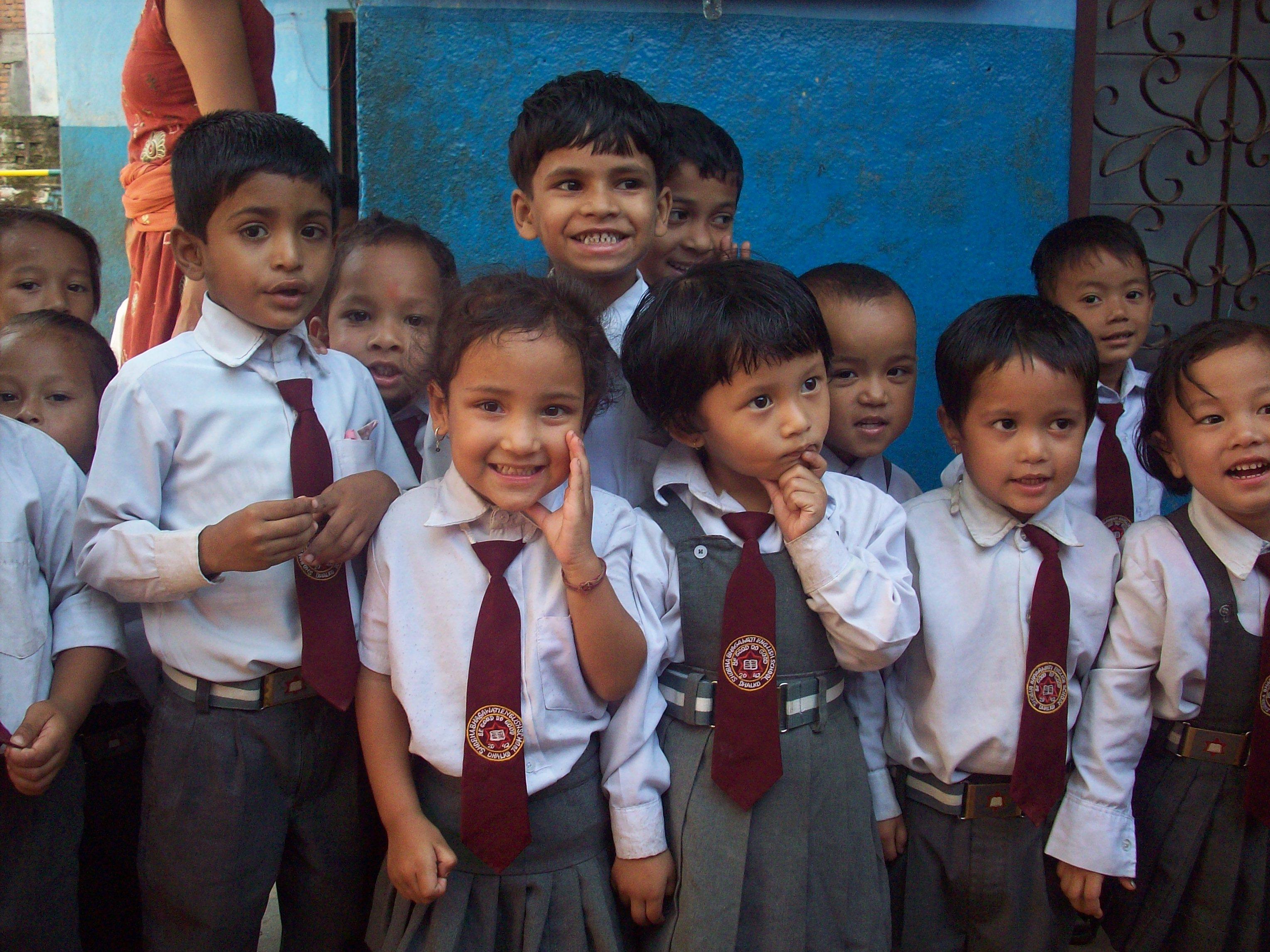 2011年、初めて出会った生徒たち