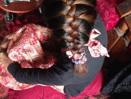 ネパールの美容室