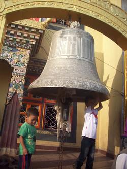 仏教寺院、Boudhaにて