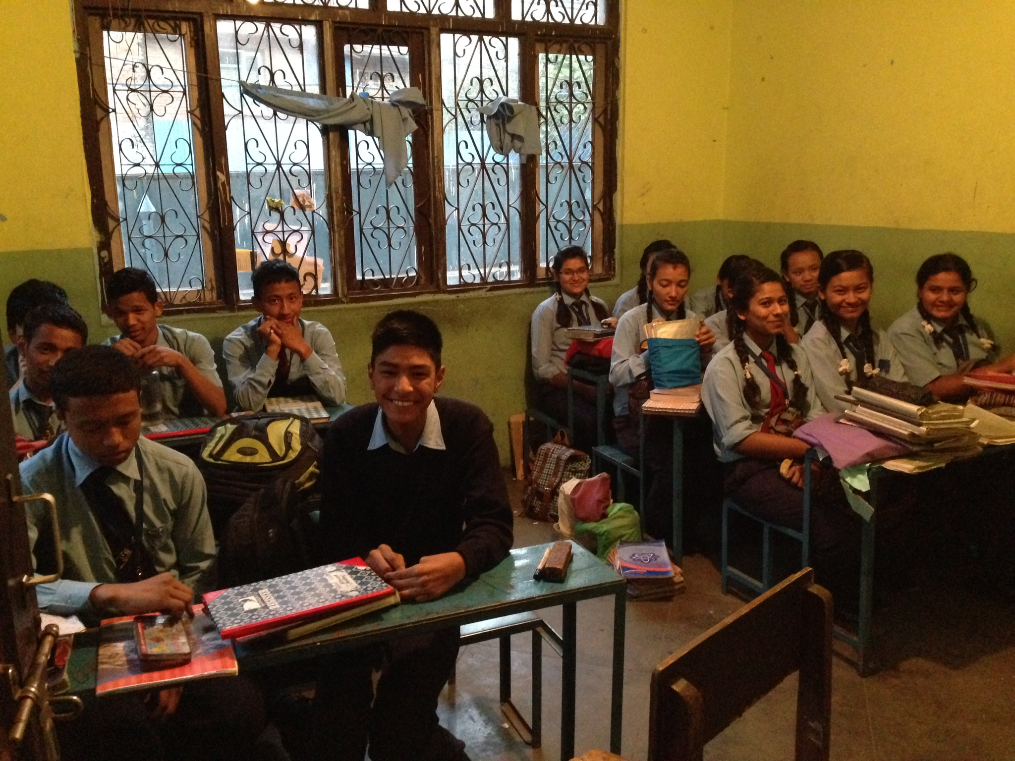 授業終わってもう帰れる、みんな嬉しそう