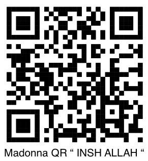 """Madonna  """" Insch Allah """""""