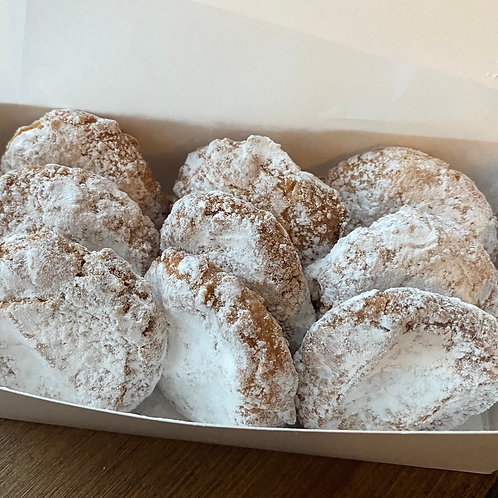 Almond Cloud Cookies (9) (GF)