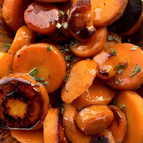 Honey Butter Carrots (Serv1) (GF)