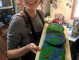 Anna Made You Some Earth Day Cookies!