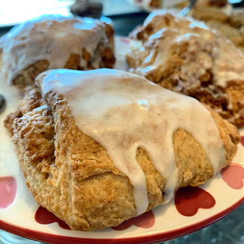 FRESH BAKED Cinnamon Cream Scone (3)