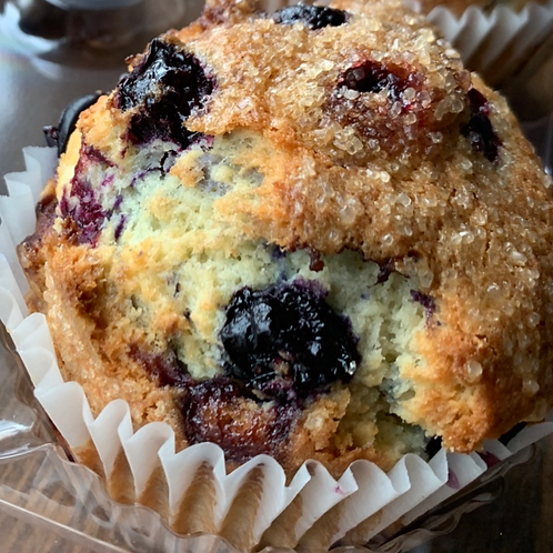 FRESH BAKED Blueberry Muffins (2)