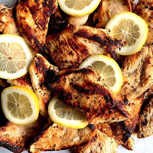 Lemon Oregano Grilled Chicken (1/2lb)(GF)