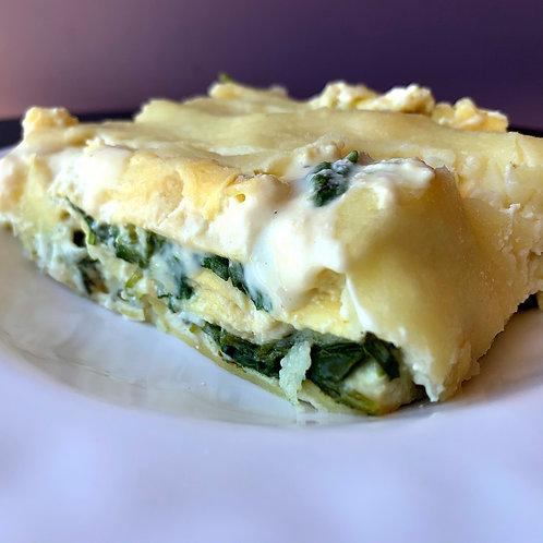 White Spinach Ricotta Lasagna (Serv 1)