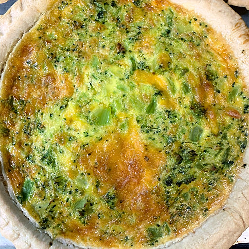 QUICHE Broccoli & Cheddar (Serv 1)