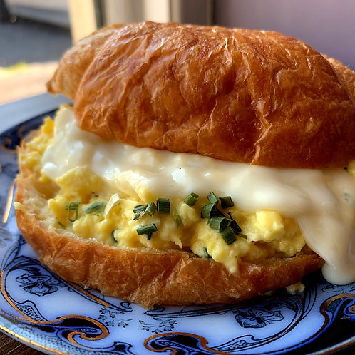 Egg and Swiss Croissant