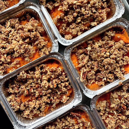 Sweet Potato Casserole (Serv 1-2)