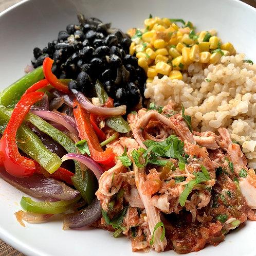 Fajita Chicken & Rice Bowl (Serv1) (GF)