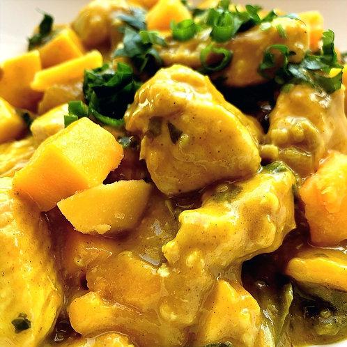 Curried Chicken and Mango (Serv1-2)