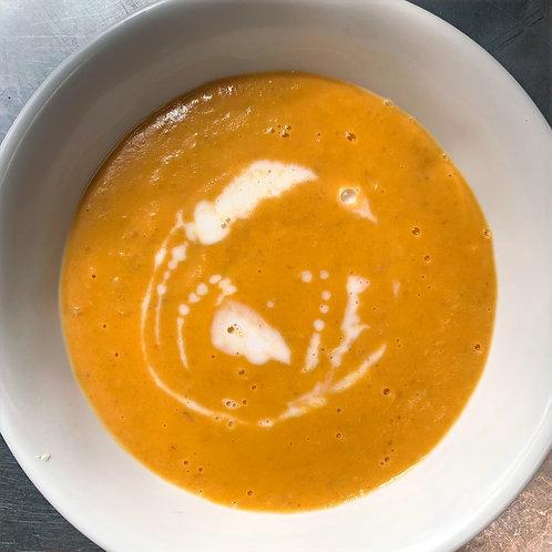 SOUP Carrot Ginger (V/GF) (Serv2)