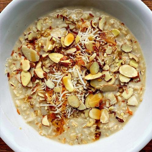 Coconut Almond Oatmeal Cups (Serv2) (V)