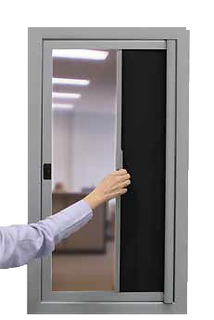ClassGuard Privacy Screen for Sidelites Partially Closed