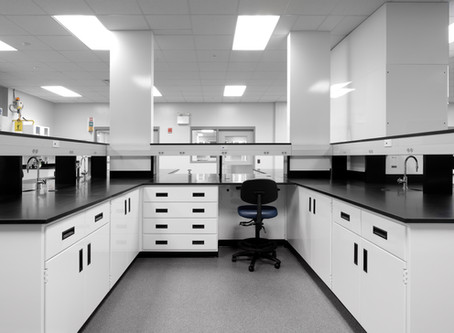 The Safety and Value of Polypropylene Fume Hoods and Casework in an Upgraded Testing Laboratory