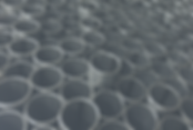 Bin of metal tubes