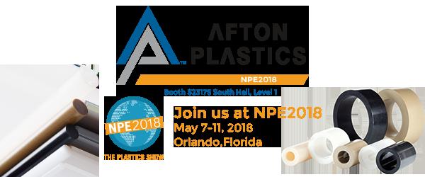 Afton Plastics NPE Banner