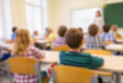 Children Sitting in Class