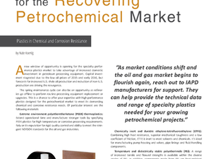 Plastic Products for the Recovering Petrochemical Market