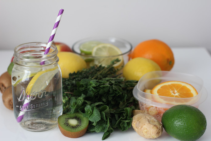 one month of water detox recipes to feel better and boost immunity