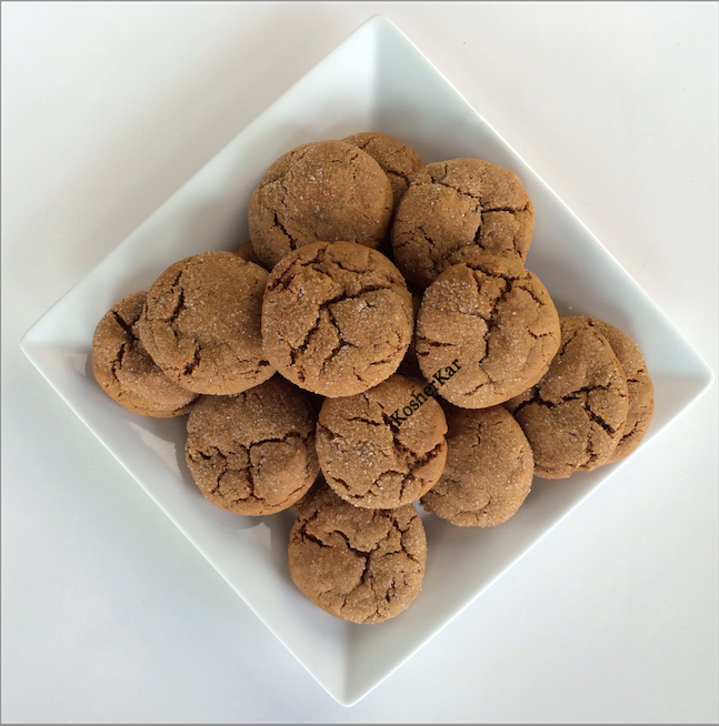 the softest molasses cookies