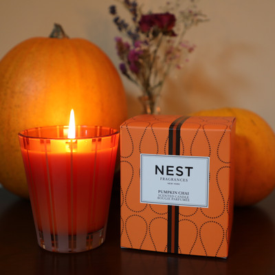 The NEST Pumpkin Chai lineup is here, and it is EVERYTHING.