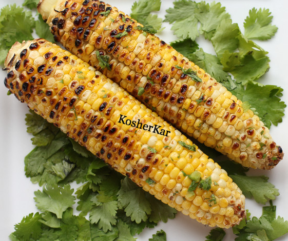 Charred Lime-Infused Corn