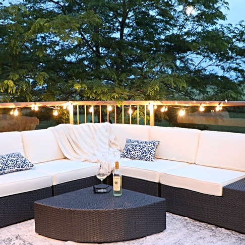 My Wayfair Dream Patio + a chance for you to win yours!