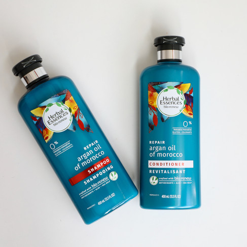 What's new: Herbal Essences Argan Oil of Morocco shampoo and conditioner
