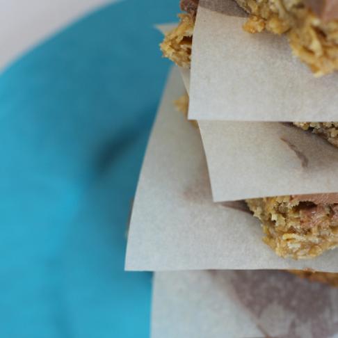 All that's left- chocolate granola bars
