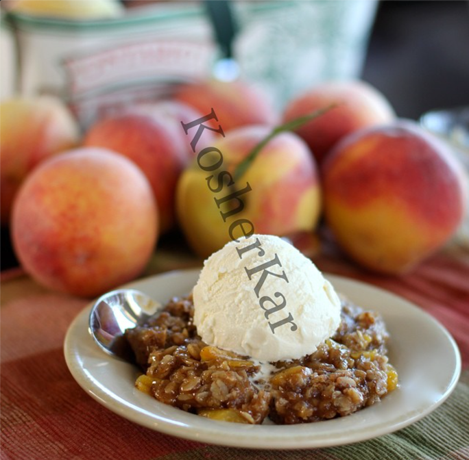 peach fruit crisp