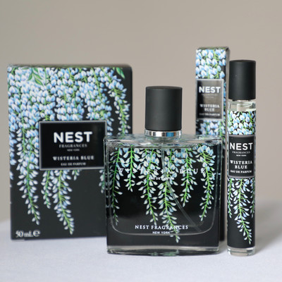 Wisteria Blue, the latest fragrance from NEST
