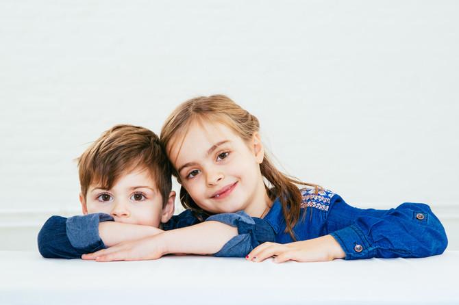 Geschwister Portraits