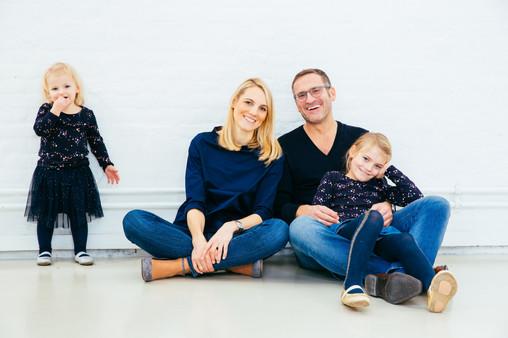 Studio Fotos Familie